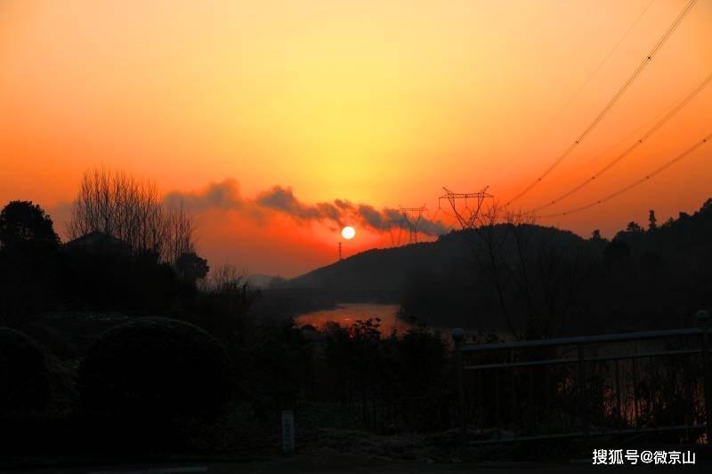 京山温泉新区的早晨