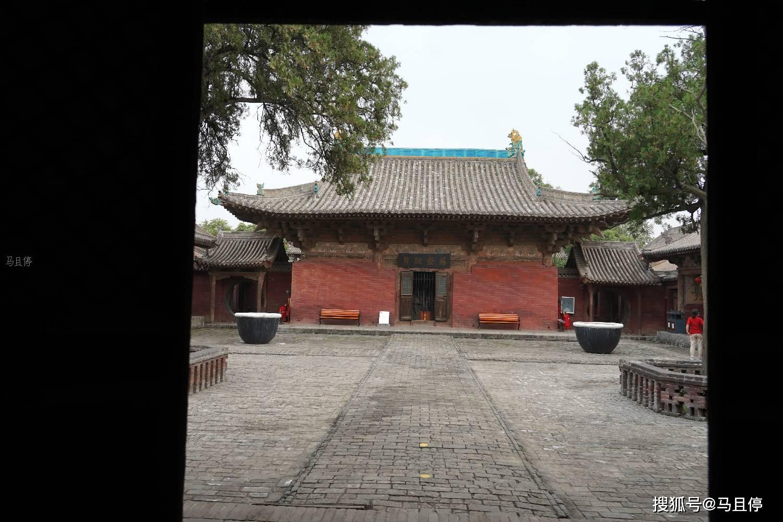 山西平遥有个冷门寺庙,比灵隐寺小众太多,还可看到1000多年的建筑  第4张