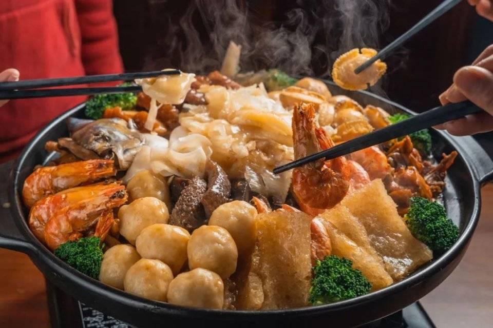 超壕气盆菜来了!20斤重, 吃遍鲍鱼、花胶、海参…