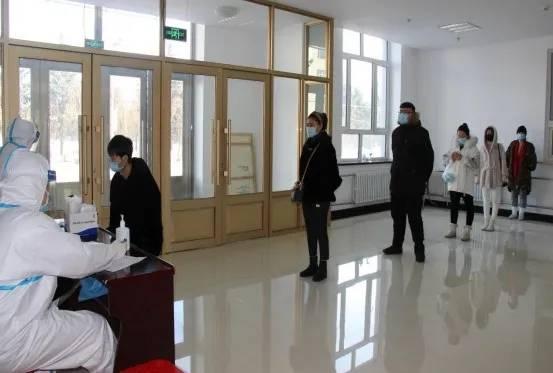 塔河县开展全员新冠肺炎病毒核酸检测应急演练
