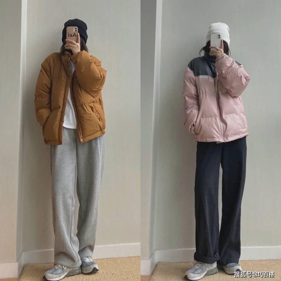 原创             喜欢简约舒适风穿搭,get阔腿裤的冬季搭配,上身不冻腿还时尚