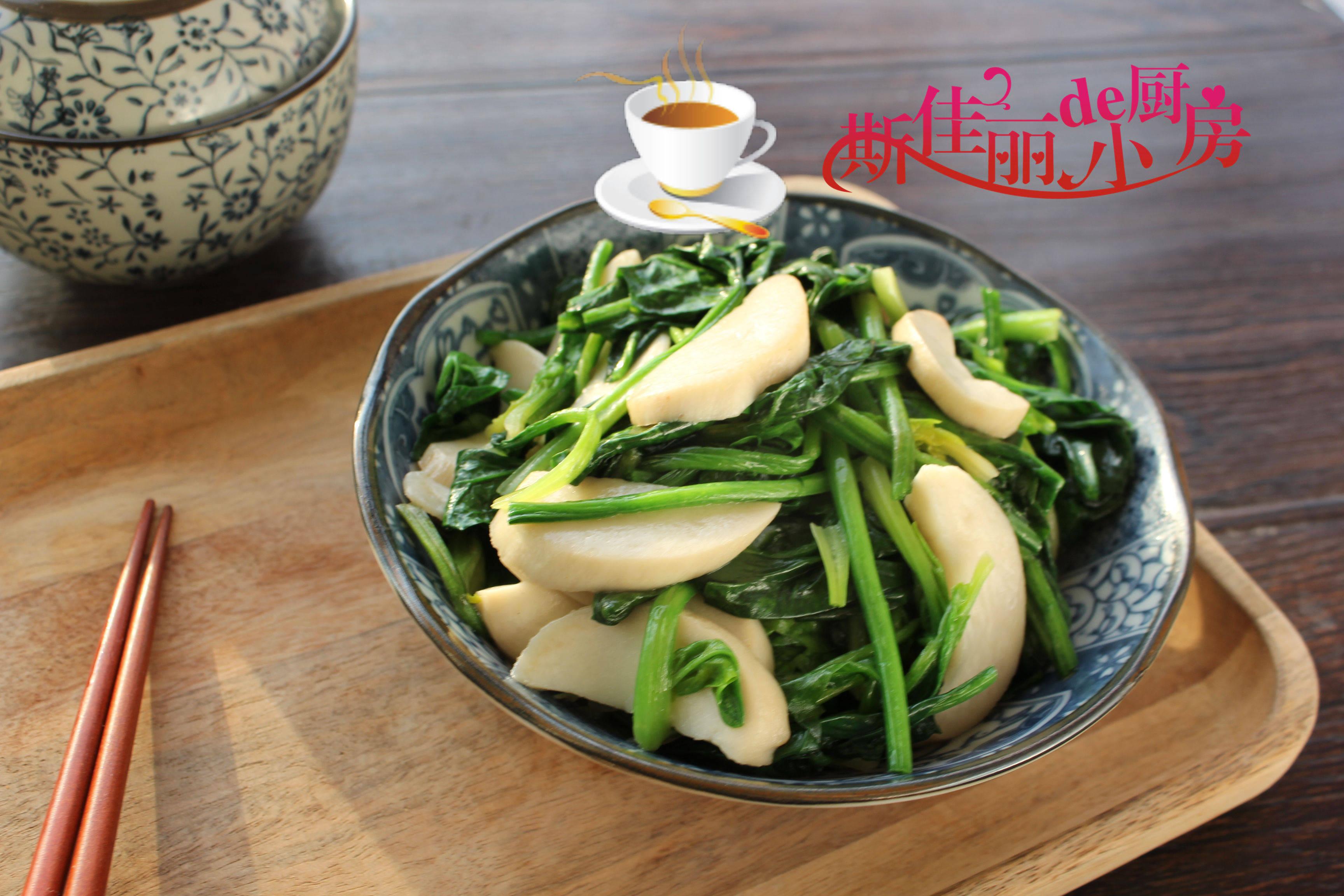 菠菜和它是绝配,简单一炒营养又下饭比肉好吃,孩子爱吃对眼睛好