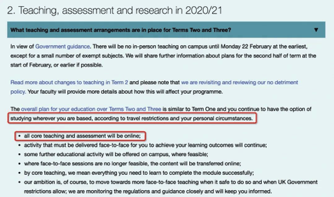 原创             英国留学|英国大学2021年初新学期错峰开学,多所大学第二学期全部改为网课!