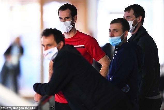 惊曝穆雷感染新冠病毒已自我隔离 澳网竟允许阳性球员前往