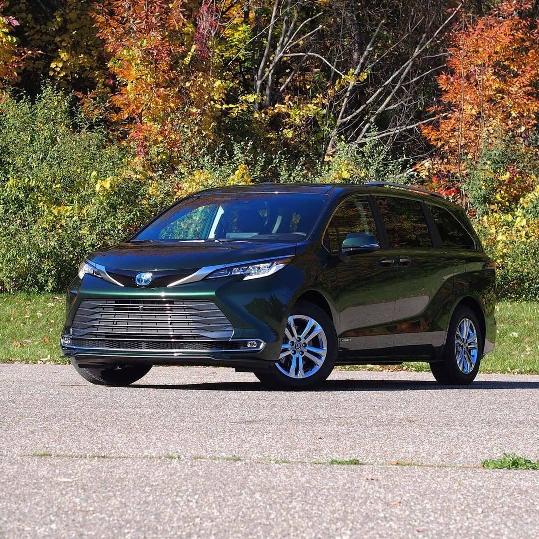 全新丰田森纳原型车未来有强烈的国产豪华感