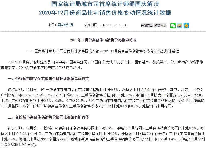 12月70城房价:42城环比上涨,扬州涨幅0.8%领跑全国,南宁房价上涨0.2%