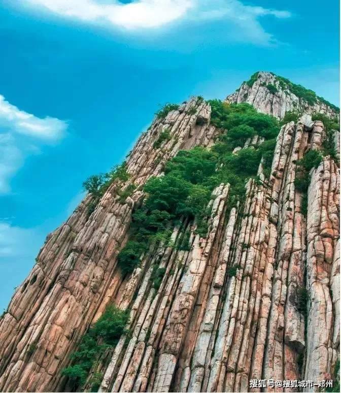 来嵩山三皇寨,带你领略23亿年前的奇峰怪石