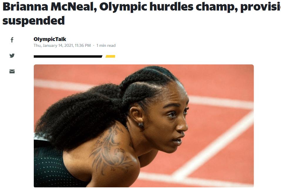被控篡改兴奋剂检查程序 里约奥运田径冠军遭禁赛