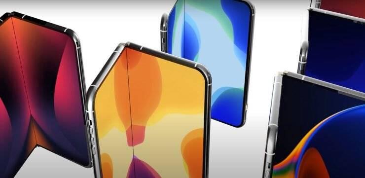 苹果考虑推出折叠屏IPhone,以与三星设备竞争