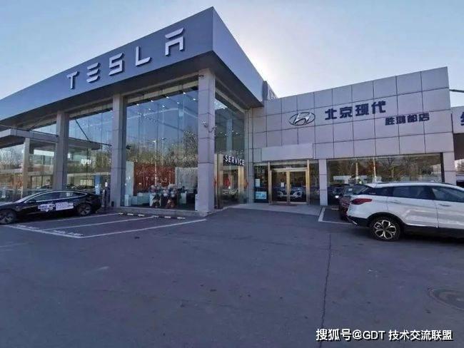 北京现代的销量暴跌至谷底,经销商别无选择,只能将场地转让给特斯拉