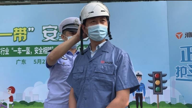 广东警企联手推一车一盔,电动车商会承诺售车
