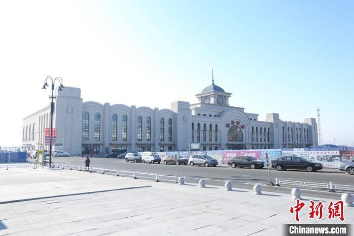 黑龙江最大对俄口岸站时隔八年再次向俄罗斯出