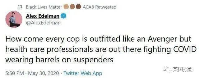 美国抗议越发魔幻:市警局彻底关闭,白人警察都来给黑人洗脚