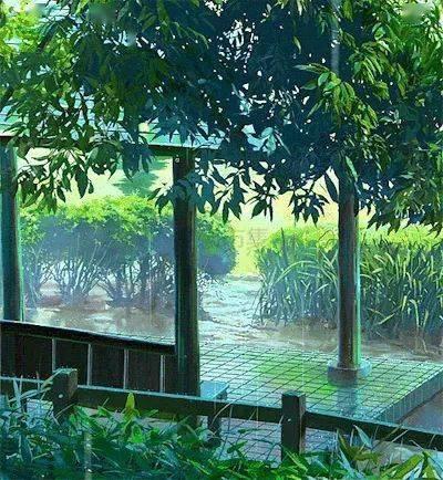 一曲 竹林听雨 ,宁静 淡泊 悠远 美极了图片