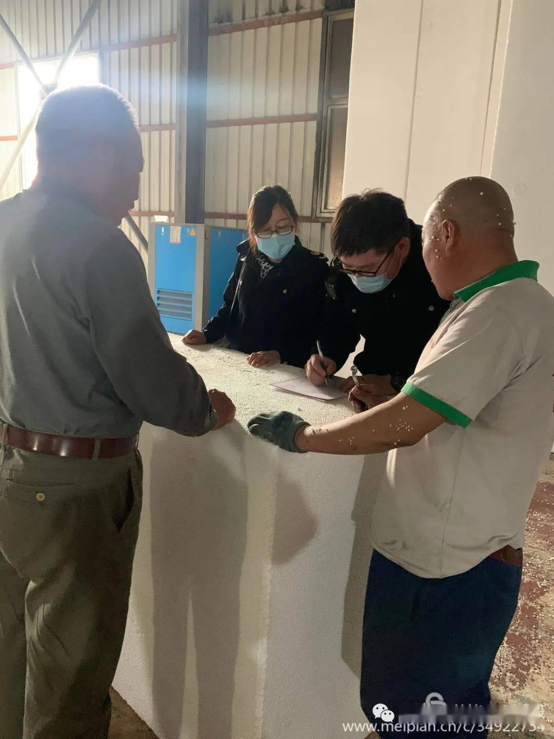 多伦县市场监督管理局开展建材市场专项监测检查