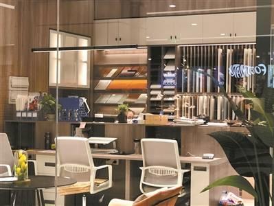 上月家具采购规模环比增长16%。 北京办公