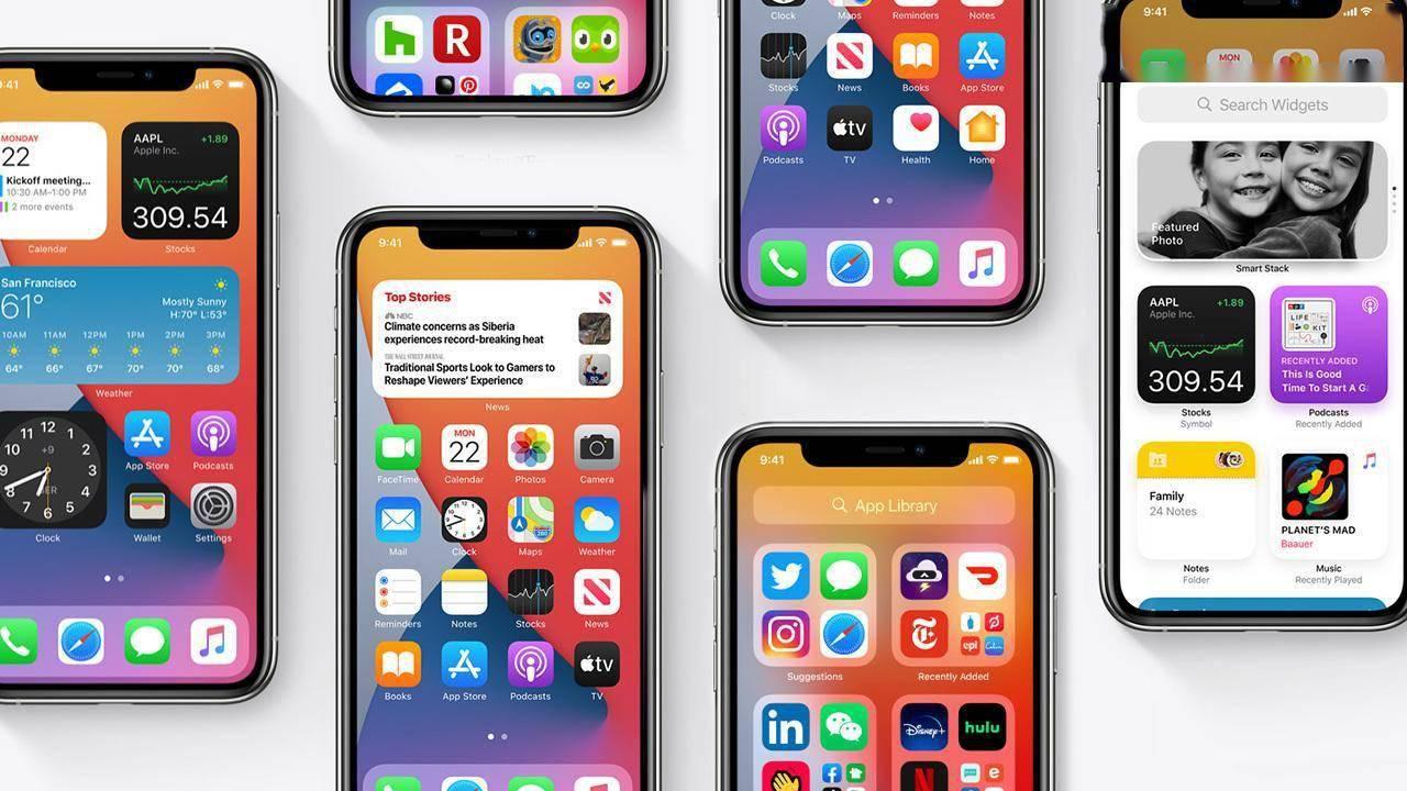 iOS 14让苹果走下神坛?