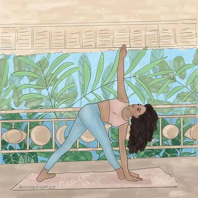 那些年因为练瑜伽而错过的事……_生活 高级健身 第4张