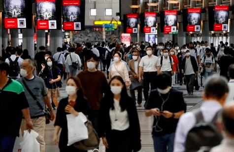 日本解禁后疫情反弹严重,从首都向地方扩散