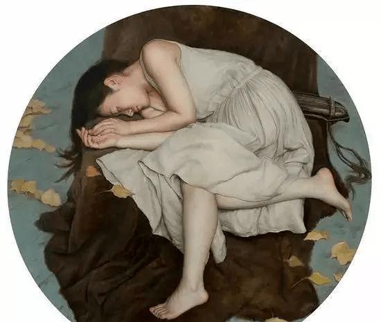 人体艺术:国内超写实美女油画作品欣赏