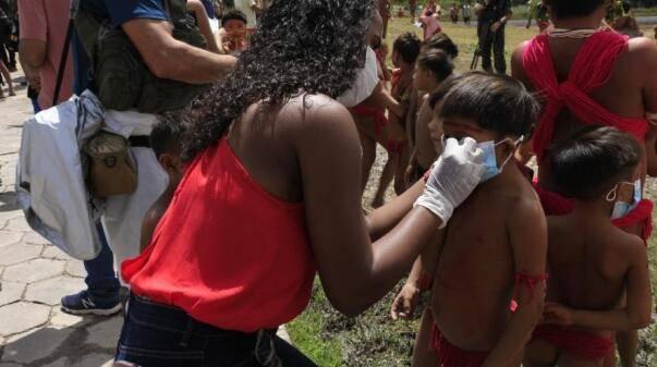 巴西原住民组织称已有超过1万名原住民确诊新冠肺炎
