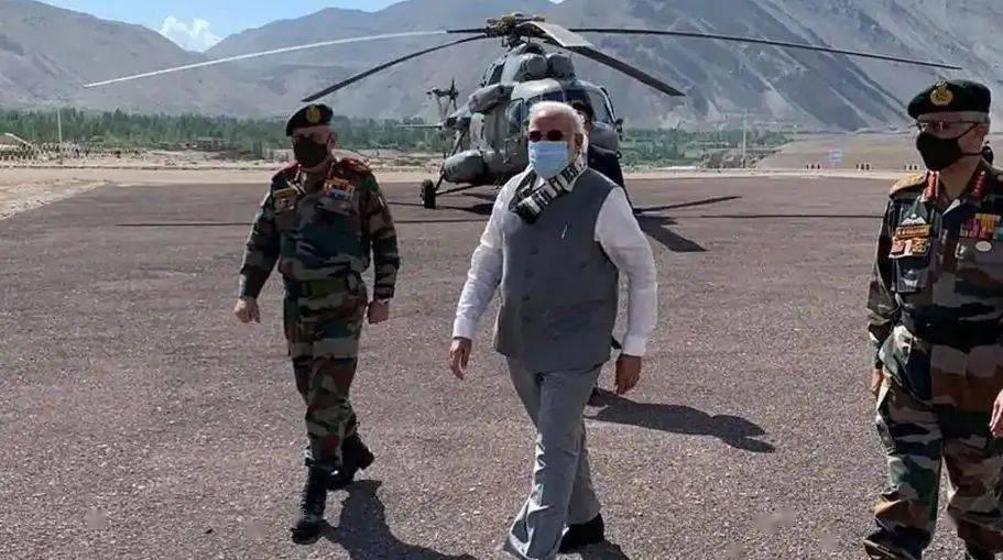 印度动作频频,莫迪突访中印边境!