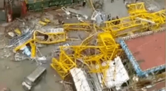 突发 | 8死1伤!2天发生2起塔吊倒塌事故