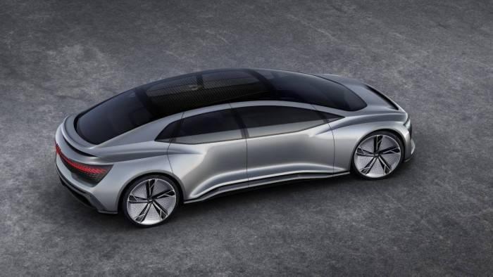 奥迪A9 e-tron定位高端豪华四门电动汽车