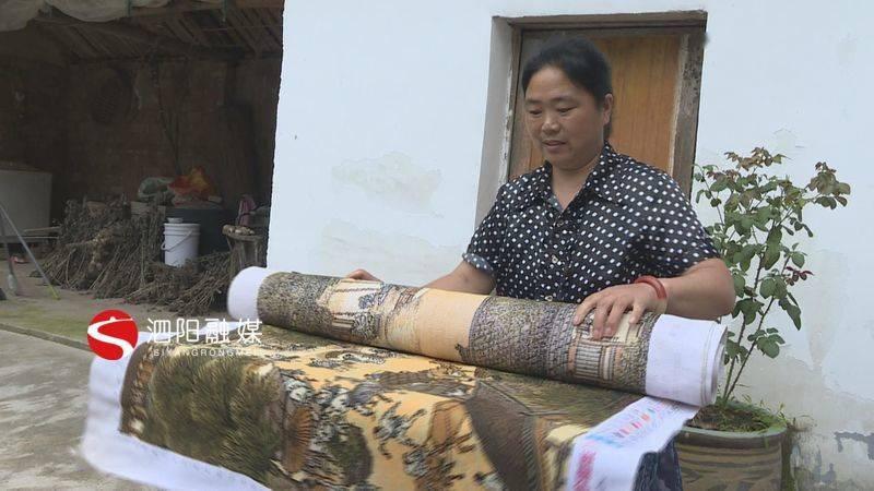 泗阳一农户家惊现七米《清明上河图》
