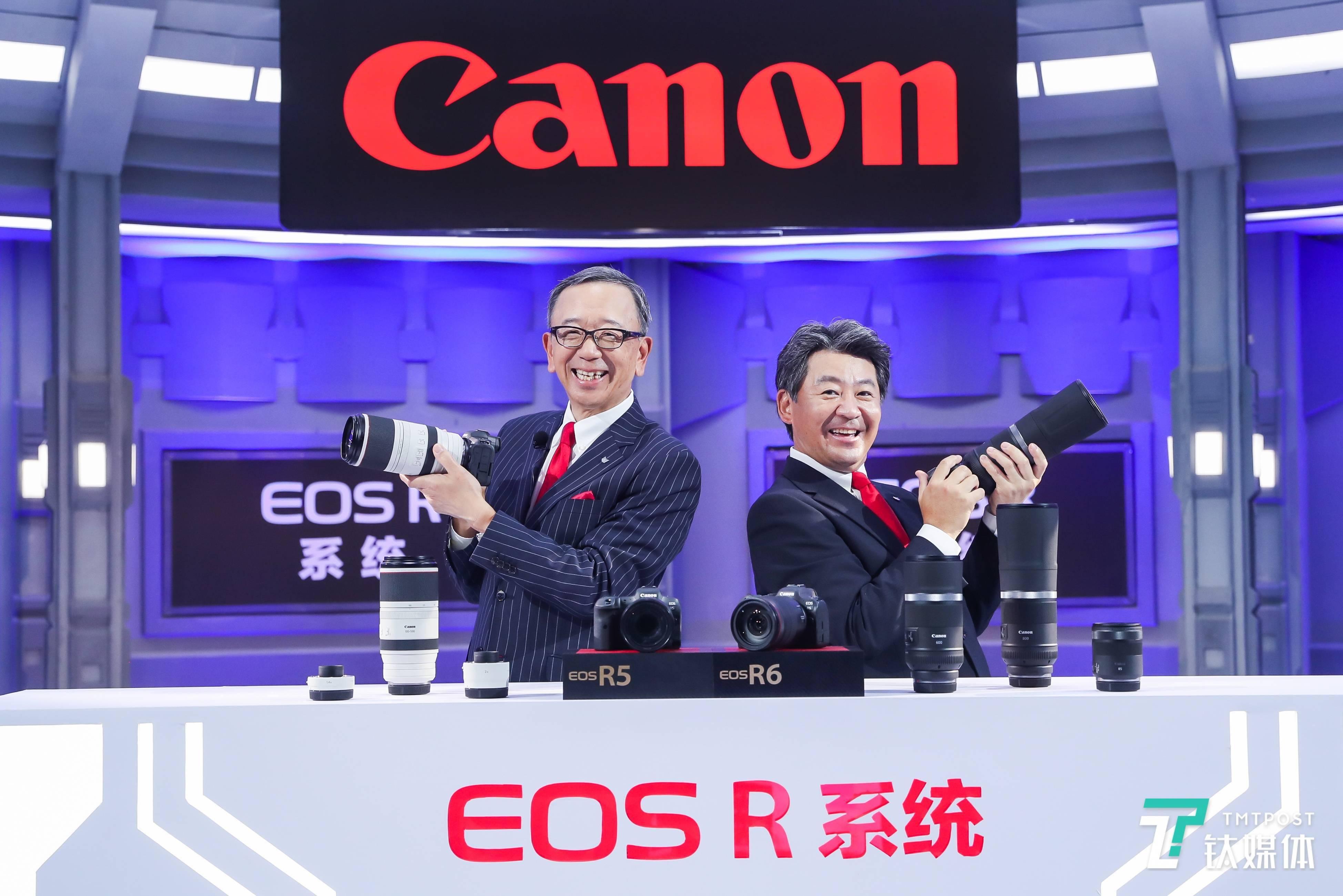 支持8K RAW录制,佳能发布两款EOS R系列无反相机与