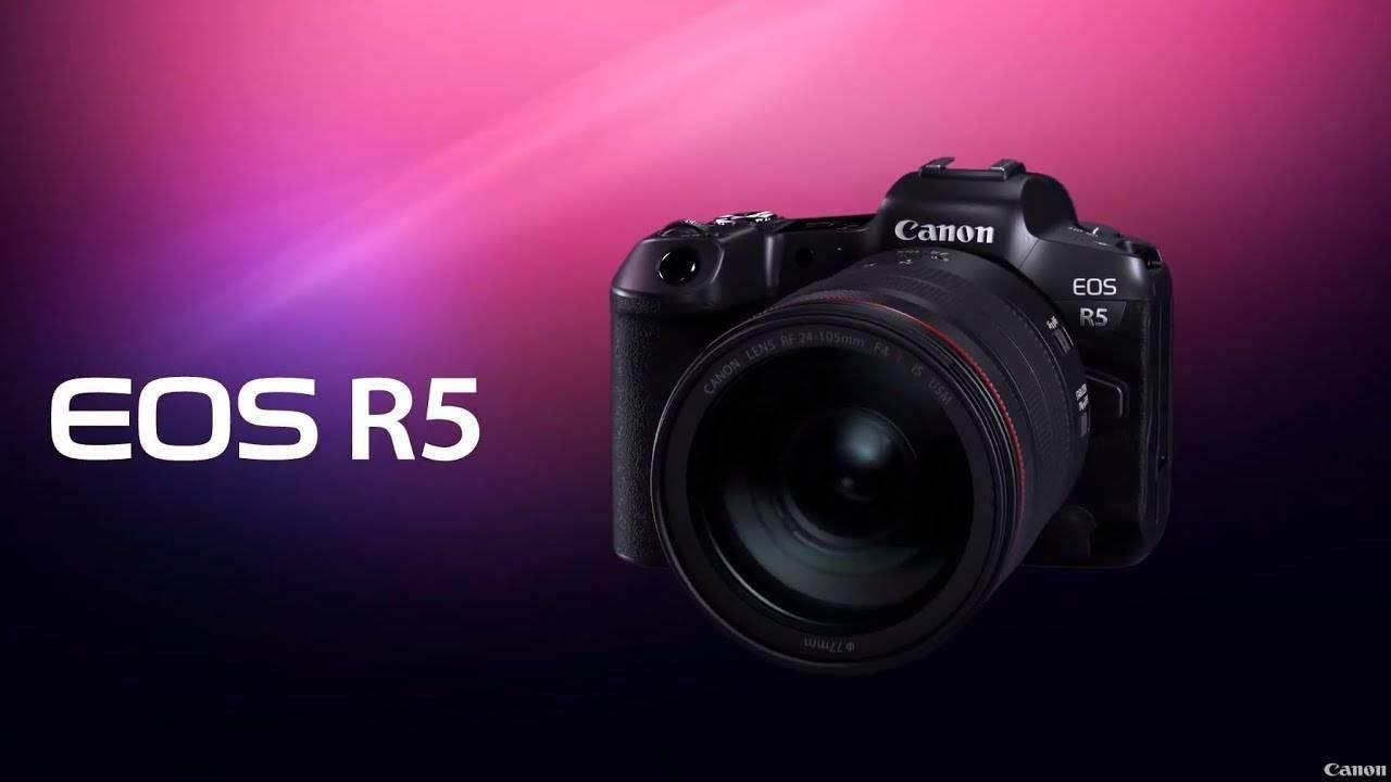 最高支持无裁切 8K 内录,佳能推出 EOS R5/R6 全画