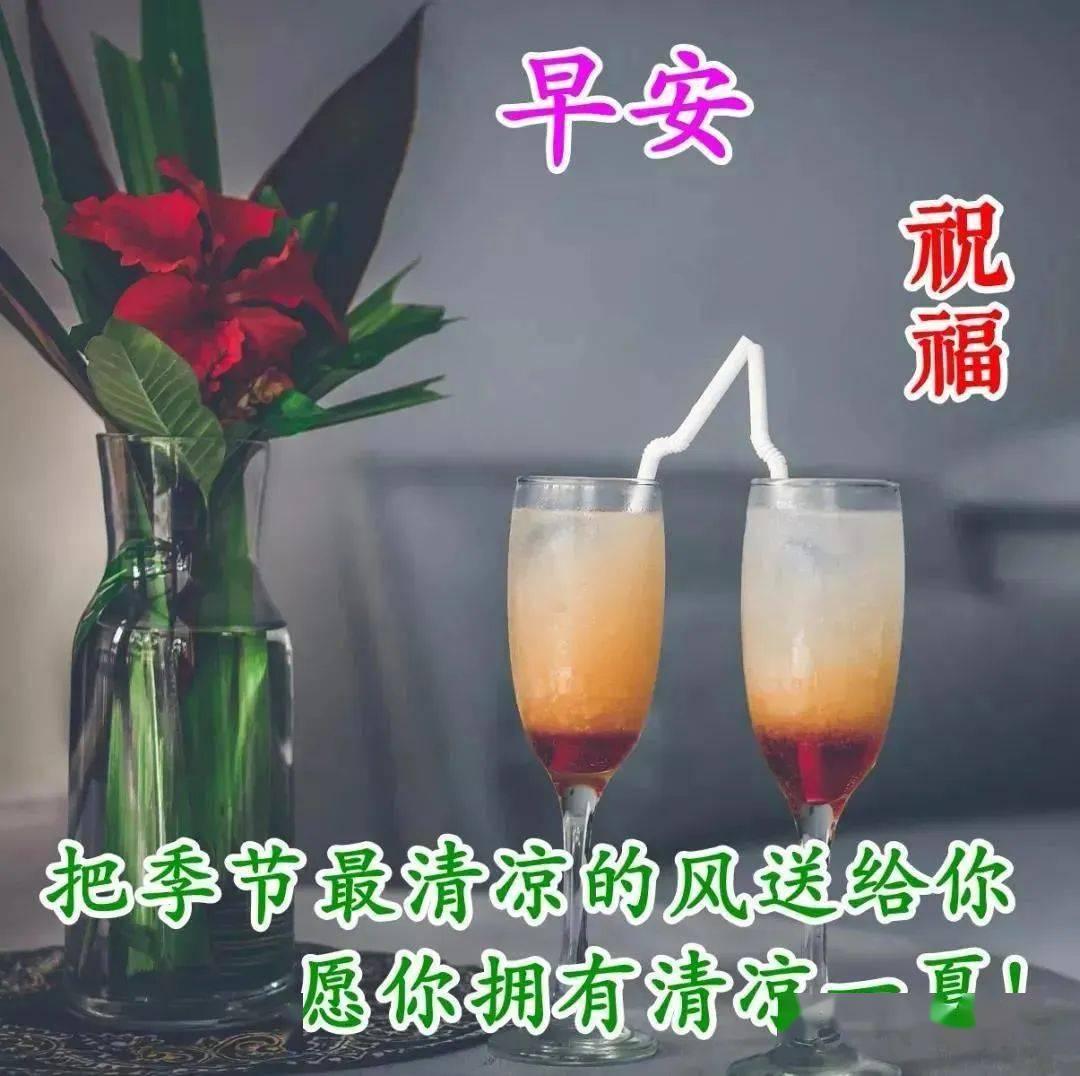 淘淘乐_2020最美早上好动态图片表情带字和鲜花,早安问候语配动态图片 ...