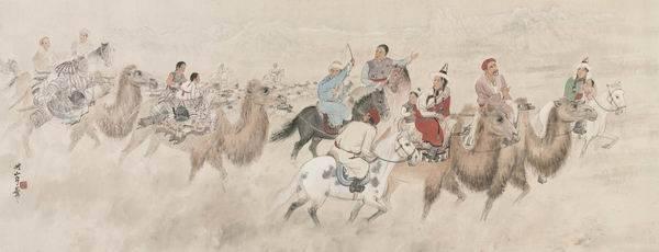 """关山 70多年前的""""向远西行"""",敦煌展关山月西行写生与临画"""
