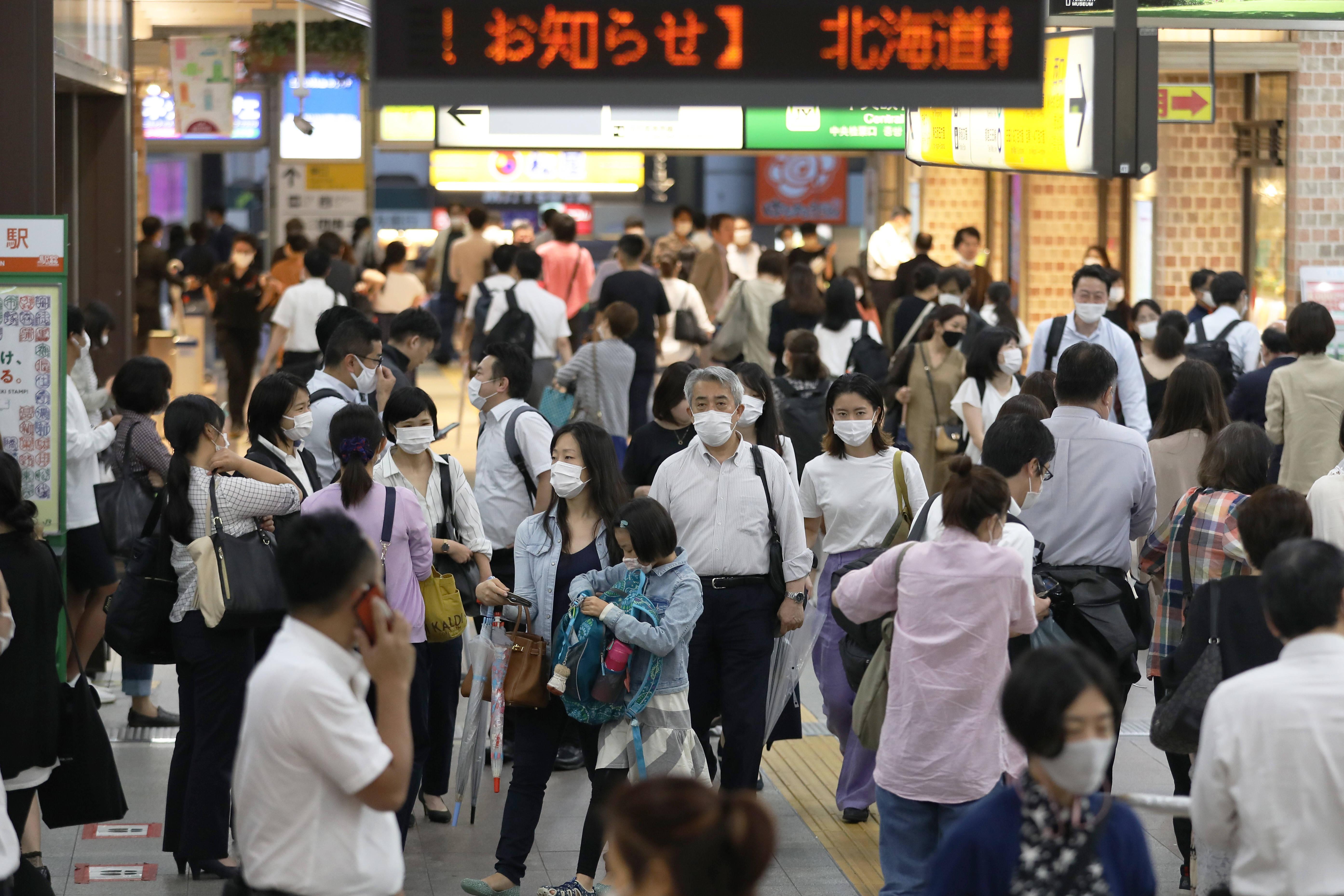 日本日增新冠病例创全国紧急状态解除以