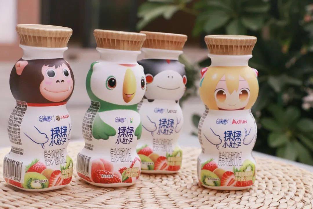 QQ星揉揉小肚子强势破圈,开辟儿童膳食纤维酸奶饮品新蓝海了