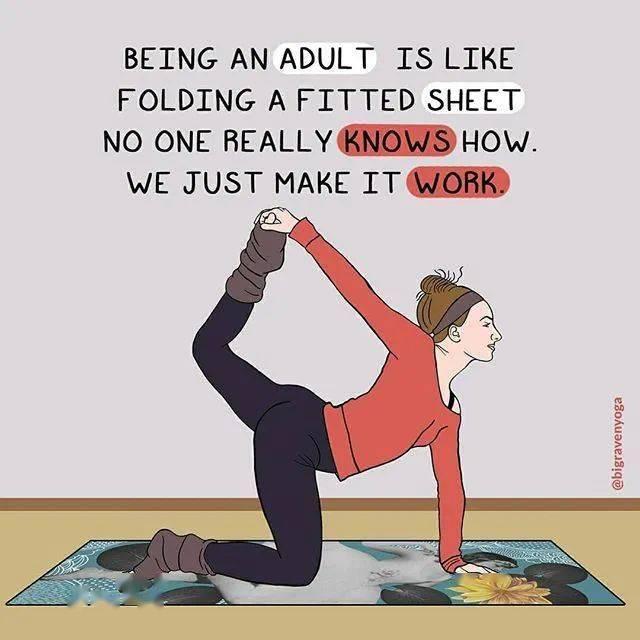 练瑜伽 1 年的感受,太真实了..._变化