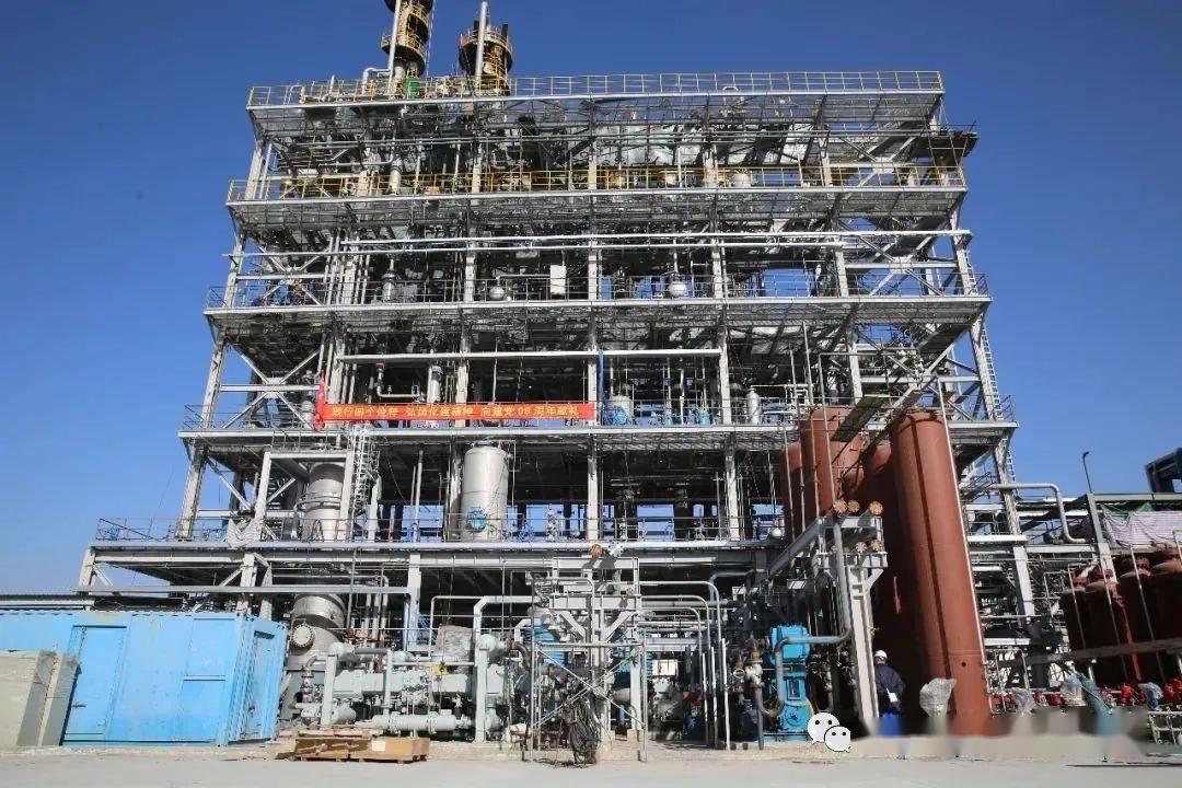内蒙古浦景聚合质料有限公司万吨级聚乙