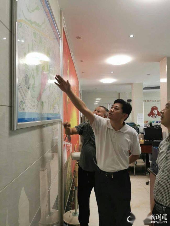 娄底市重点建设项目事务中心到娄星区山塘社区帮扶创文管卫工作