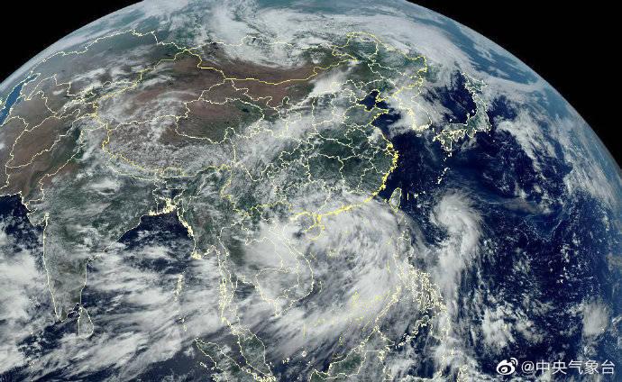 """第3号台风""""森拉克""""生成,2020年台风圈再添一员"""