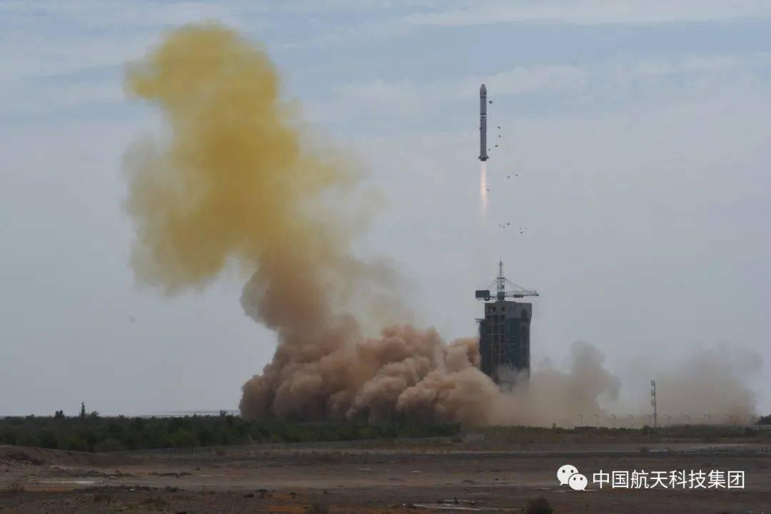 冬天穿丝袜一箭双星 中国成功发射高分九号04星和清华科学卫星