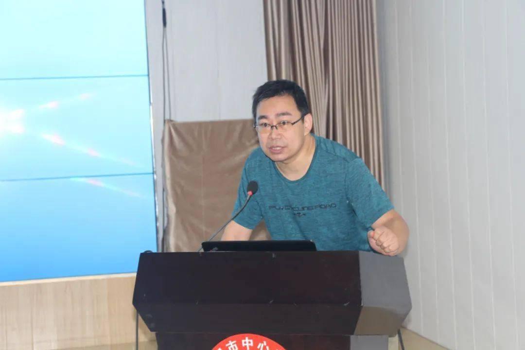 8月6日,咸阳市中心血站进行了计算机安
