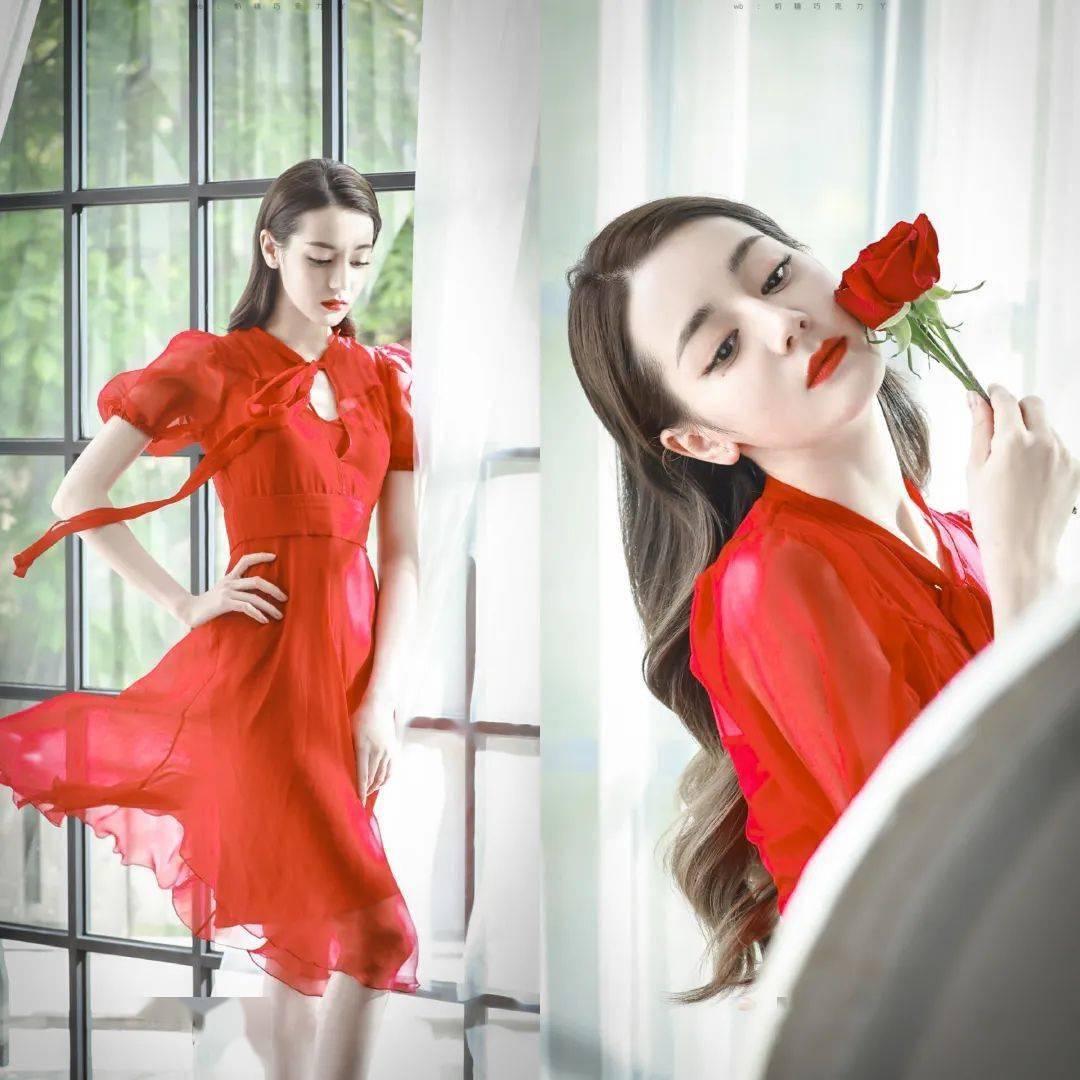 她们一袭红色嫁衣又惊艳了多少男生的梦!