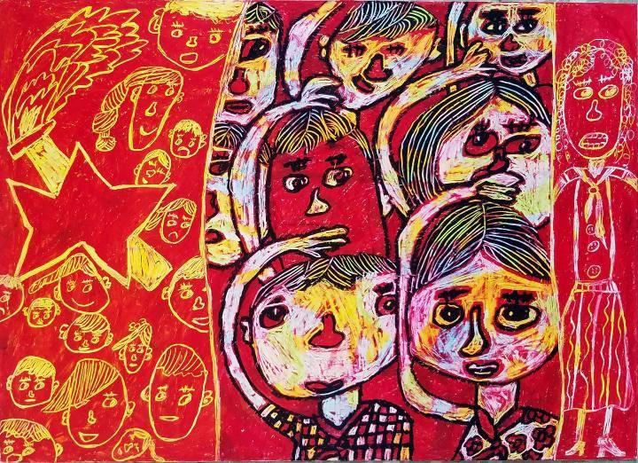 厉害了!合川12件儿童画将在北京展出