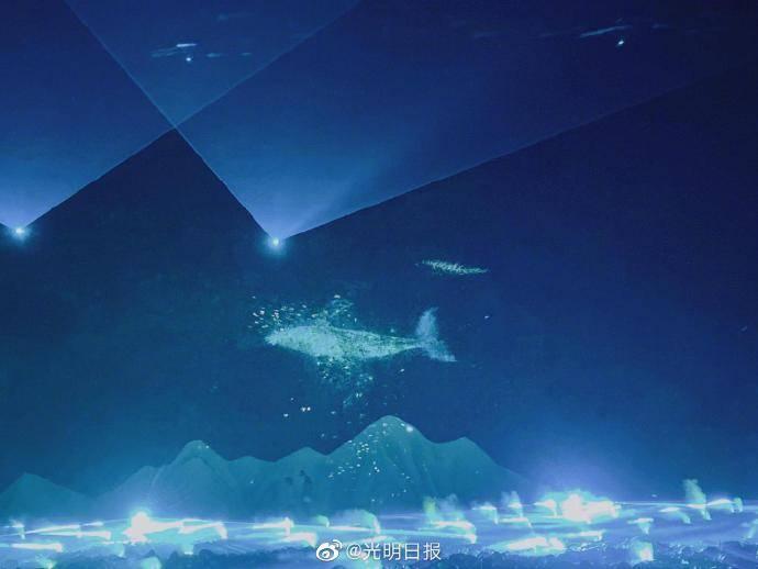 国内首部大型行浸式海岛光影演艺项目即将营业