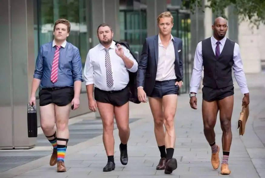 """* 短裤搭配好了 女人叫你型男!搭配欠好唤你作""""姐妹""""'欧洲杯正规买球app'"""