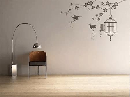 家居壁纸 : 你的租房贴壁纸了吗 亚博App(图1)