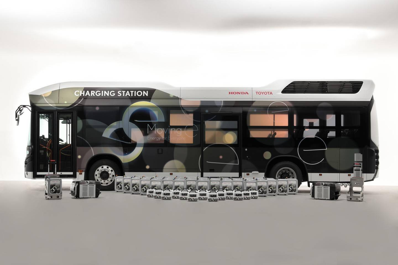 本田和丰田正进行以燃料电池公交车作为救灾移动电源的可行性评估