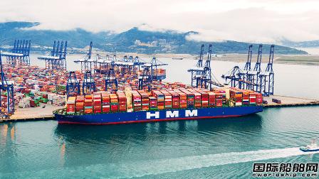 HMM与三星重工合作开发智能环保船舶 北仑三星重工