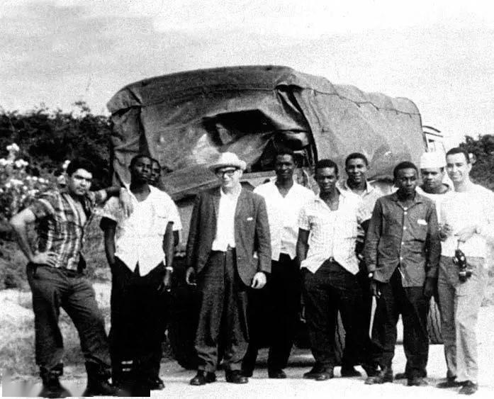 第一批古巴军事人员