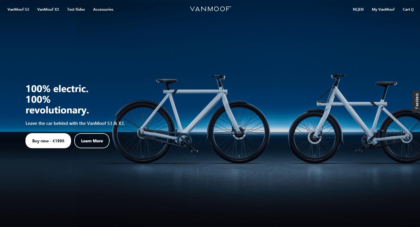 电动自行车融资不断,「VanMoof」再获 4000 万美元 B 轮融资